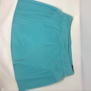 NWT Nike Teal Women Pleated Tennis Golf Skirt Sz M